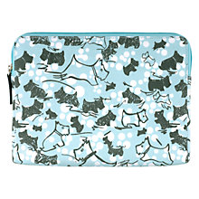 Buy Radley Cherry Blossom Dog iPad Mini Cover, Blue Online at johnlewis.com