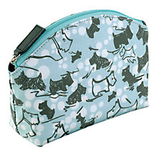 Buy Radley Cherry Blossom Dog Small Cosmetic Case, Blue Online at johnlewis.com