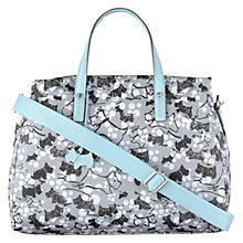 Buy Radley Cherry Blossom Across Body Bag, Grey Online at johnlewis.com