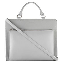 Buy Radley Clerkenwell Large Multiway Shoulder Bag, Grey Online at johnlewis.com