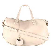 Buy Radley Turnham Green Leather Small Shoulder Bag, Ivory Online at johnlewis.com