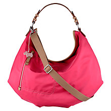 Buy Radley Tibberton Fabric Large Multiway Shoulder Bag, Pink Online at johnlewis.com