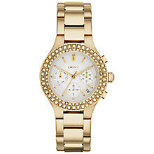 Buy DKNY NY2259 Women's Chambers Bracelet Watch, Gold Online at johnlewis.com