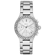 Buy DKNY NY2258 Women's Chambers Bracelet Watch, Silver Online at johnlewis.com