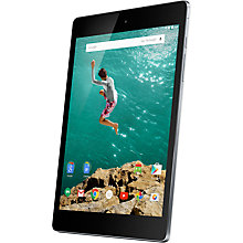 "Buy Google Nexus 9 Tablet, NVIDIA Tegra K1, Android, 8.9"" Wi-Fi, 32GB Online at johnlewis.com"