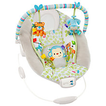 Buy Bright Starts Comfort & Harmony Merry Monkeys Baby Bouncer Online at johnlewis.com