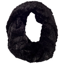 Buy Chesca Diamond Faux Fur Snood Online at johnlewis.com