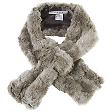 Buy Chesca Faux Fur Slip-Through Scarf Online at johnlewis.com