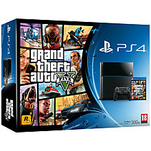 Buy Sony PS4 Console with Grand Theft Auto V Online at johnlewis.com