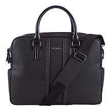 Buy Ted Baker Casora Document Bag, Black Online at johnlewis.com