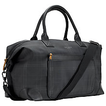 Buy Ted Baker Radayo Check Holdall Bag Online at johnlewis.com