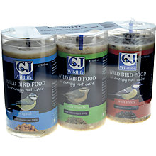 Buy CJ Wildlife Fat Cakes Bird Feed, Assortment of 3 Online at johnlewis.com