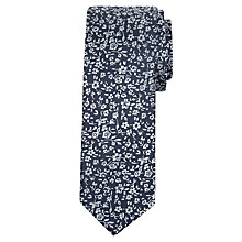 Buy Daniel Hechter Ditsy Floral Silk Tie Online at johnlewis.com