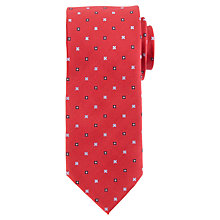 Buy Daniel Hechter Geometric Floral Tie Online at johnlewis.com