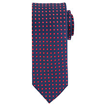 Buy Daniel Hechter Dot Silk Tie Online at johnlewis.com