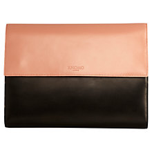"Buy Knomo Knomad Air Leather, Portable Organiser for Tablets up to 10"" Online at johnlewis.com"