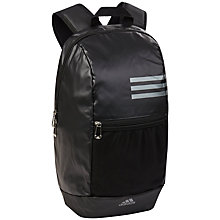 Buy Adidas Climacool Backpack, Black Online at johnlewis.com