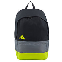 Buy Adidas Versatile Colour Block Backpack Online at johnlewis.com
