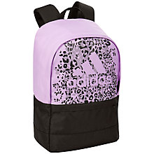 Buy Adidas Versatile Backpack, Light Purple/Black Online at johnlewis.com