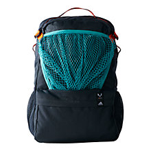 Buy Adidas Messi Kids Backpack, Dark Grey/Vivid Mint Online at johnlewis.com