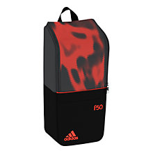 Buy Adidas F50 Boot Bag, Black/Grey/Red Online at johnlewis.com