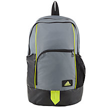 Buy Adidas Training Backpack, Vista Grey Online at johnlewis.com