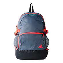 Buy Adidas NGA Backpack Medium, Vista Grey/Black/Flash Red Online at johnlewis.com