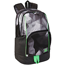 Buy Adidas NGA 1.0 Medium GRA 2 Backpack, Black/Vista Grey Online at johnlewis.com