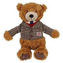 Buy John Lewis Country Lewis Bear, Medium Online at johnlewis.com