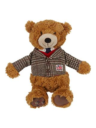 John Lewis & Partners Tourism Country Lewis Teddy Bear Soft Toy