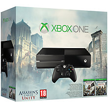 Buy Microsoft Xbox One Console with Assassin's Creed Unity and Assassin's Creed IV: Black Flag Online at johnlewis.com