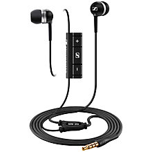 Buy Sennheiser MM 30i In-Ear Headphones with Mic/Remote, Black Online at johnlewis.com