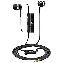 Buy Sennheiser MM 70i In-Ear Headphones with Mic/Remote, White Online at johnlewis.com