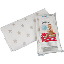 Buy PHP Star Baby Playmat, Grey Online at johnlewis.com