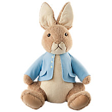 Buy Beatrix Potter Peter Rabbit Giant Plush Soft Toy Online at johnlewis.com