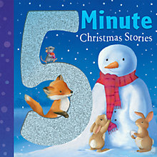 Buy 5 Minute Christmas Stories Children's Book Online at johnlewis.com