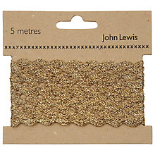 Buy John Lewis 6mm Ric Rac, 5m Online at johnlewis.com