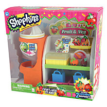 Buy Shopkins Fruit & Veg Playset Online at johnlewis.com