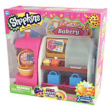 Buy Shopkins Bakery Stand Playset Online at johnlewis.com