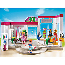 Buy Playmobil City Life Clothing Boutique Online at johnlewis.com