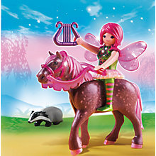 Buy Playmobil Fairies Forest Fairy Surya With Horse Online at johnlewis.com
