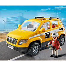 Buy Playmobil City Action Site Supervisor's Vehicle Online at johnlewis.com