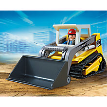 Buy Playmobil City Action Compact Excavator Online at johnlewis.com