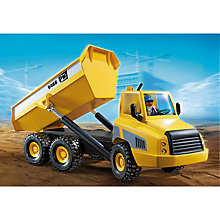 Buy Playmobil City Action Industrial Dump Truck Online at johnlewis.com