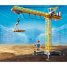 Buy Playmobil City Action Large Crane With IR Remote Control Online at johnlewis.com