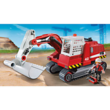 Buy Playmobil City Action Construction Excavator Online at johnlewis.com
