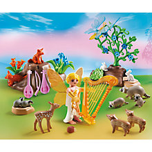 Buy Playmobil Fairies Music Fairy With Woodland Creatures Online at johnlewis.com