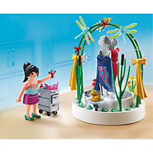 Buy Playmobil City Life Clothing Display Online at johnlewis.com
