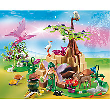 Buy Playmobil Fairies Healing Fairy Elixia In Animal Forest Online at johnlewis.com