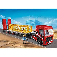 Buy Playmobil City Action Heavy Duty Flatbed Trailer Online at johnlewis.com